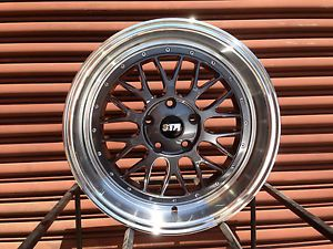 Str 601 LM Style Wheels 18x8 5 5x100 Fit Scion FRS TC Subaru BRZ Volkswagen Audi