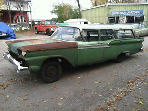1959 Ford Station Wagon Parts Car Galaxie Country Squire Sedan 59 Ranch Wagon