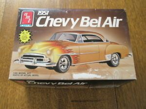 AMT 1951 Chevrolet Bel Air 1940 Ford Coupe Incomplete for Parts Kit Bashing