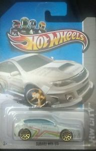 Hot Wheels Subaru WRX STI Diecast Car