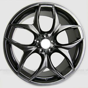 "21"" 21x10 5 21x11 5 BMW 215 Style for Wheels Rims for BMW x5 E70 x6 E71 Set 4"