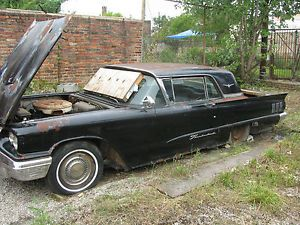 1960 Ford Thunderbird Parts Car with Air Conditioning