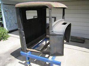 1932 Ford Pickup Cab Doors and Parts