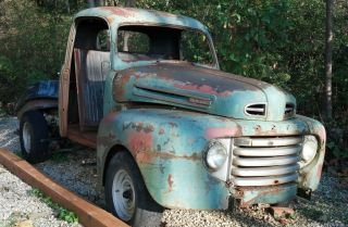 1950 Ford F1 Pickup Truck Parts