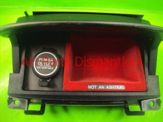 06 07 08 Acura TSX Interior Center Console Coin Tray Pocket 77715 Sec A21ZA