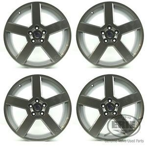 "Four Reconditioned Volvo 18""x8 Pegasus Alloy Rims Wheels for S60R V70R"