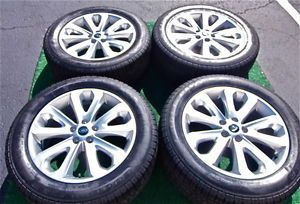 4 New Takeoff Genuine Factory 2013 Range Rover HSE 20 inch Wheels Tires Land