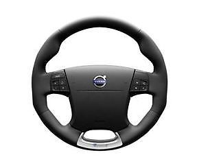 R Design Charcoal Leather Sport Steering Wheel Volvo V70 XC60 XC70 31202270