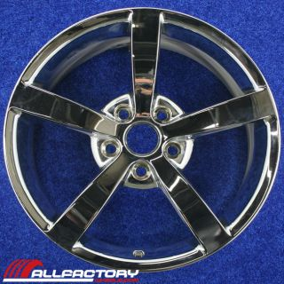 "Chevy Chevrolet Corvette 18"" 2008 2009 2010 Factory Rim Wheel Front Chr 5341"