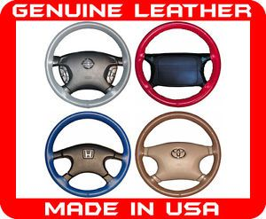 Mercedes Benz Wheelskins Genuine Leather Steering Wheel Cover