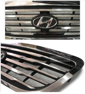 Genuine Part Front Chrome Hood Radiator Grill for Hyundai 2001 2004 Terracan