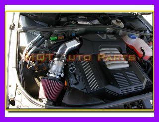Black Red Audi A4 A6 Quattro Base Avant 2 8L V6 Air Intake System 1996 2000