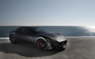 Stealth Gray Factory Maserati Granturismo MC Stradale Edition Wheels Tires