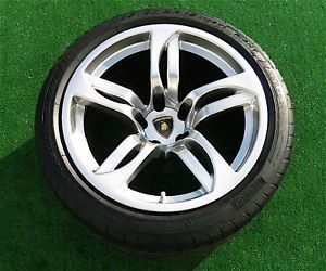 Genuine Original Condition Lamborghini LP640 Murcielago Hermera Wheels Tires