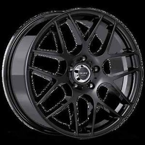 "18"" Ruff Racing R356 Rims Wheels 5x112 Mercedes Benz Audi VW Crossfire"