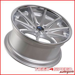 "19"" Rohana RC10 Silver Fits Mercedes Benz CLA250 Staggered Concave Wheels Rims"