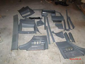 81 87 Buick Grand National T Type Regal Complete Interior Parts