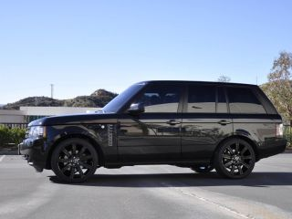 22 Black Stormer Wheels Rims Fit Range Rover Land Rover HSE Sport Full Size 2012