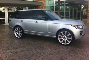 "2013 Range Rover 24"" Wheels Rims Brand New Compare to 22"" Fits 2003 2014 Sport"