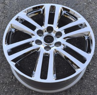 "20"" Buick Enclave Acadia Traverse Outlook Used Chrome Wheel Rim 4087 XX"