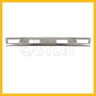 83 86 Nissan 720 Pickup 2WD Chrome Bumper Face Bar New Replacement Front