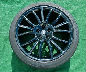 Perfect Factory Maserati Granturismo s Gran Turismo Black 20 in Wheels Tires