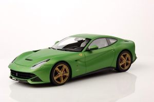 Mr Collection Ferrari F12 Berlinetta Green Gold Wheels 1 18 New Release Le 30pc