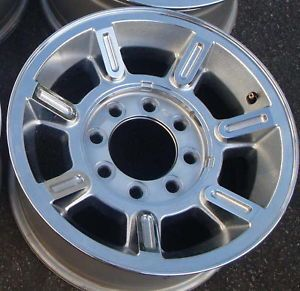 "17"" 04 05 06 07 Hummer H2 Chrome Alloy Wheel Rim"