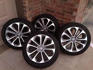 2013 Honda Accord Coupe V6 Set of 4 18 inch Wheels Rims Tires