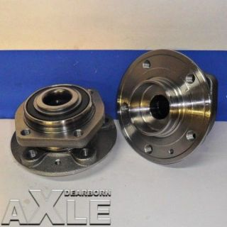 2 Front Wheel Hub Bearing Assembly New Volvo Set Pair