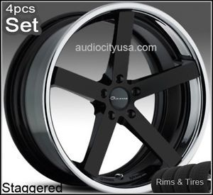 "22"" for Mercedes Benz Wheels and Tires C CL s E S550 ml Giovanna Mecca Rims"