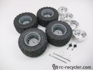 New Bright Hummer H2 Wheel Tire Set Newbright NB