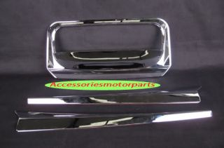 Chrome Tail Gate Tailgate Accent Cover for All New Isuzu D Max 2012 Pick Up