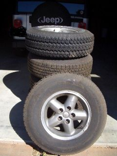 Jeep Wrangler Wheel and Tire Set