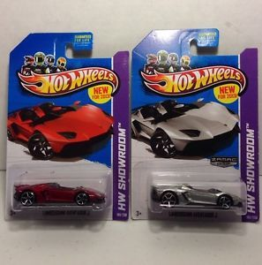 New 2013 Hot Wheels Lamborghini Aventador J Zamac 017 Regular 180 250
