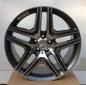 "Brand New Rims 22"" Mercedes Benz AMG Wheels Gunmetal Fits G500 G550 G55 G Wagon"