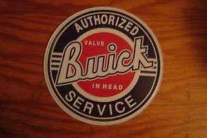 Vintage Style Buick Service Metal Sign GSX Rat Hot Rod Muscle Car Parts