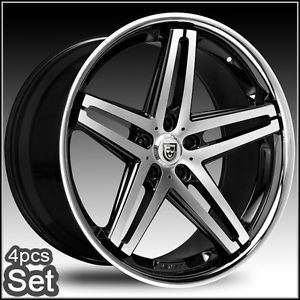 22inch Lexani R Five for Mercedes Benz Wheels C CL s E S550 ml Rims