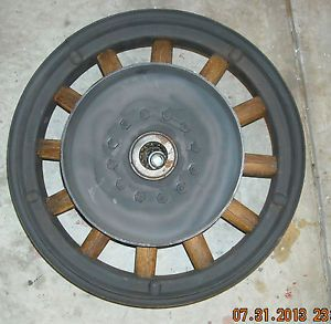 1928 Buick Front Wood Spoke Wheel Vintage