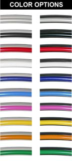 Kia Wheel Bands Color Bead Track Wheel Rim Protection by Rimpro Tec