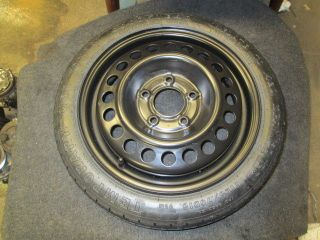 Chevrolet Oldsmobile Pontiac Buick Compact Spare Wheel Spare Tire 15x4 3986