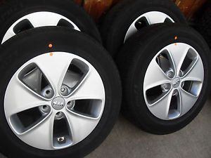 "4 New 2014 16"" Kia Soul Alloy Aluminum Wheels Rims Factory"