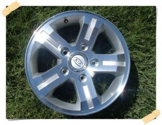 "16"" Kia Sorento Factory Original Stock Aluminum Alloy Wheel Rim 74566 4"