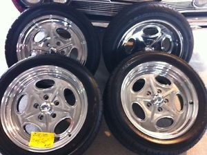 Cragar 391 Salt Flat 17 x 7 Wheels Tires Buick Chevy Olds Pontiac