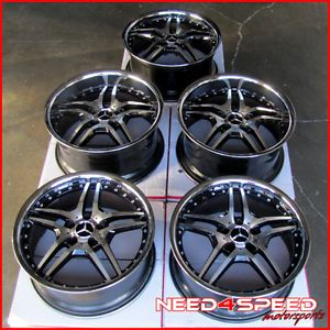 "19"" Mercedes Benz W221 S400 S550 S600 s Roderick RW2 Staggered Wheels Rims"