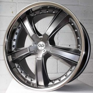 "22"" Mercedes ml Klass 2011 2012 DVD 481 Gun SSL Alloy Wheels 5x112"