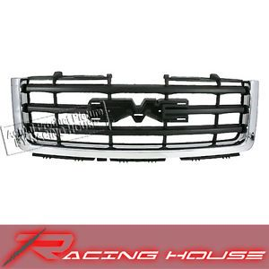 07 10 GMC Sierra New Front Chrome Grille Grill Assembly Replacement 1500 Parts