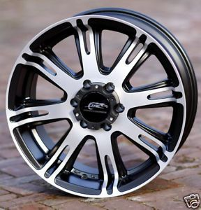 18 inch Black Wheels Rims Dale Jr Chevy GMC 1500 6 Lug