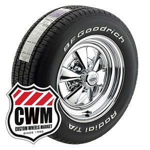 "15x7"" 15x8"" Cragar SS Wheels Rims Tires for Chevy Nova"