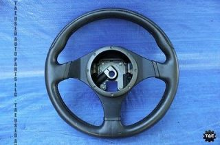 2006 Mitsubishi Lancer Evolution Momo Black Steering Wheel EVO9 CT9A 290